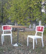 Набор пластиковых стульев со столом Орли РС