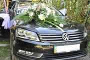 Авто на весілля Volkswagen Passat 2.0 TDI, чорного колльору.