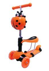 Музыкальный самокат Scooter Micro Mini оранжевый