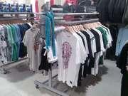 Торгове обладнання для одягу (торгові стелажі,  стійки та меблі)