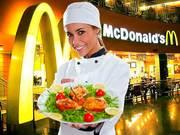 Официанты в McDonalds в Польшу