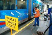 Уборка Трамвайных Депо и Трамваев в Польше