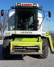 . Комбайн зерноуборочный CLAAS Lexion 460. Год выпуска: 2002