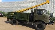 ямобур БМ-302 после полного капремонта на базе ГАЗ 66,  1993г. в.,